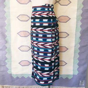Vintage Aztech Wrap Skirt